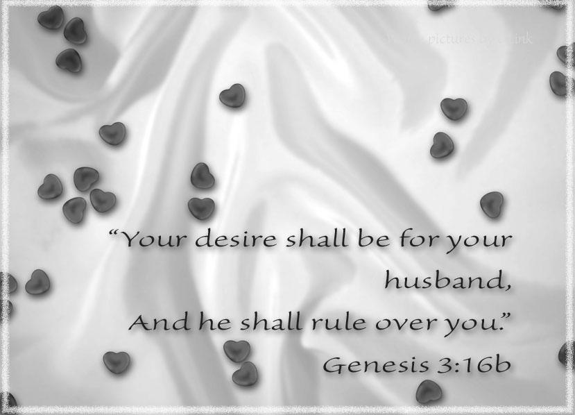 genesis 3;16b