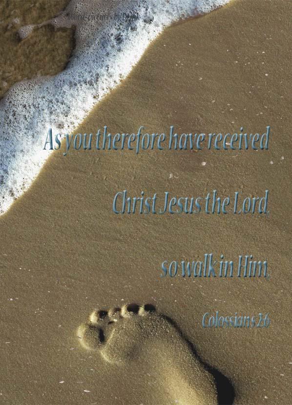 Colossians 2;6