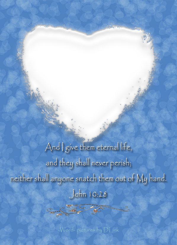 John 10;28