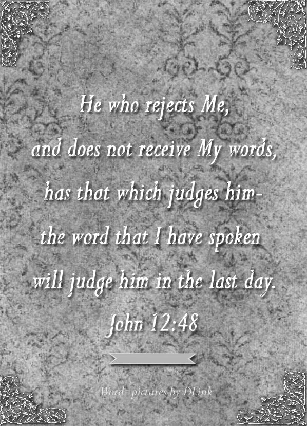John 12;48