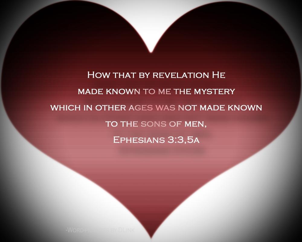 Eph 3;3,5a