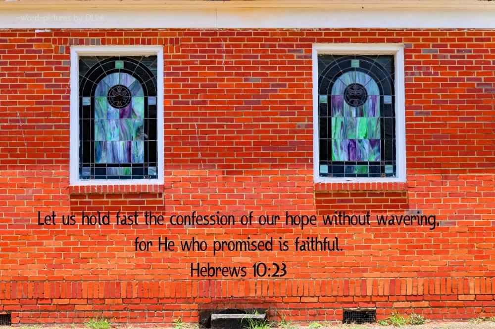 Hebrews 10;23