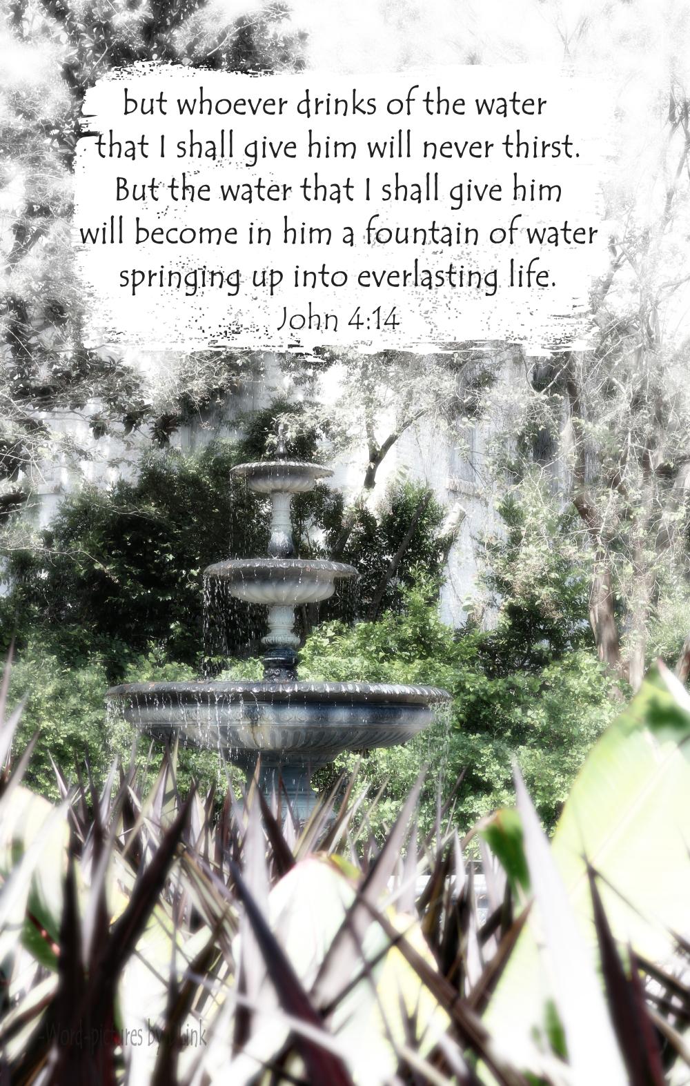 John 4;14