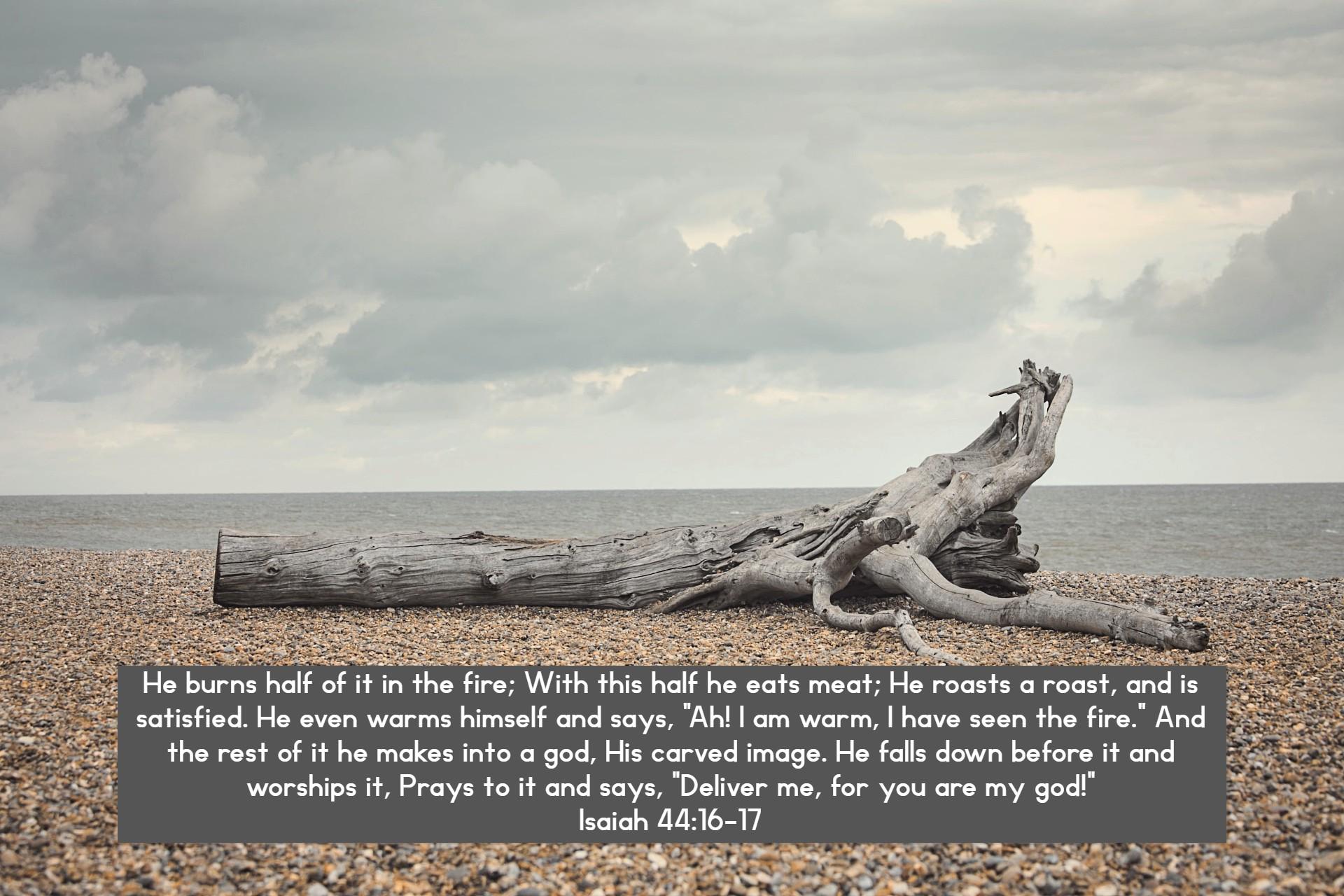 Jeremiah 44;16-17