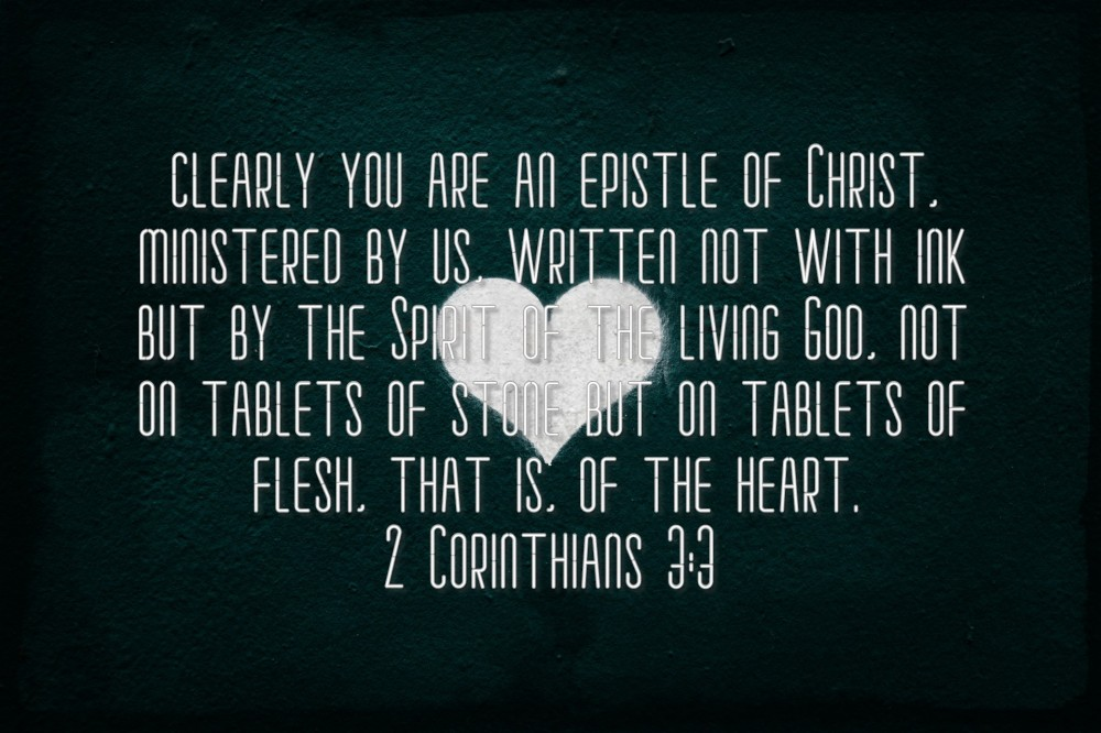 2 Corin 3;3
