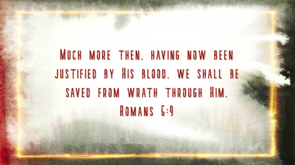 Romans 5;9